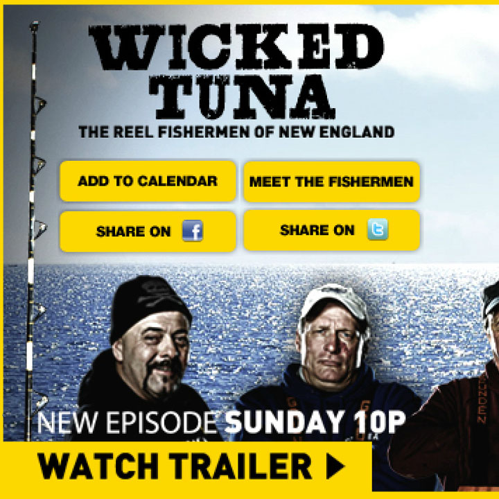 Wicked Tuna Custom Skin