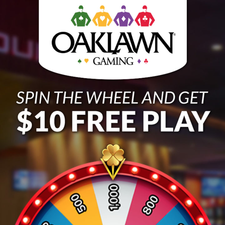 Oaklawn – Spin the Wheel