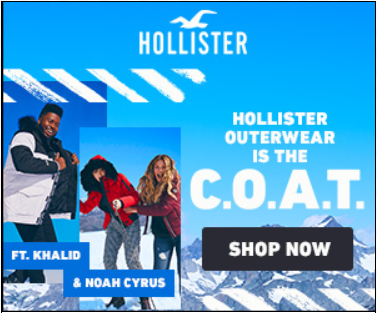 Hollister Americas – Weather Target