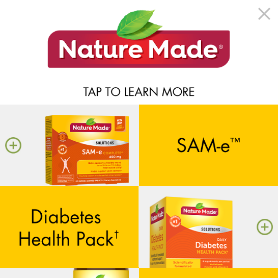 Nature Made – Multiple product – Interstitial