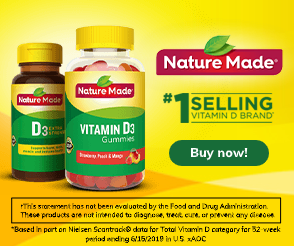 Nature Made – Vitamin D Custom Weather Ad – 300×250