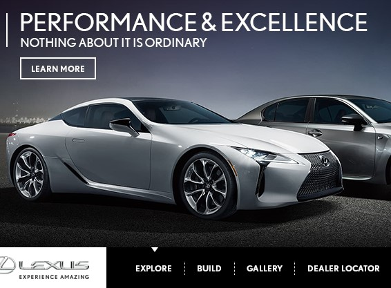 Lexus – Rich Media